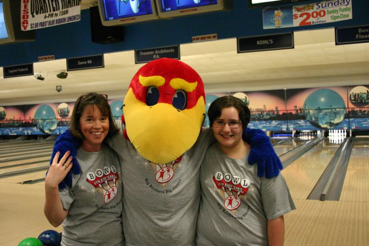 One of our matches at the Family Bowl on April 16, 2011.
