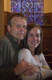 Ashley Catherine Goodin and her fiance Glenn Skulborstad will be married in the Danforth Chapel on the Kansas University campus April 29, 2011. When they planned their wedding, they had no idea that they would be married the same date as Prince William and Kate Middleton.