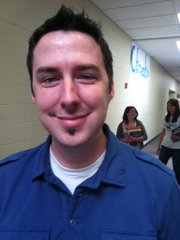 Matt Frost, a teacher at West Junior High School.