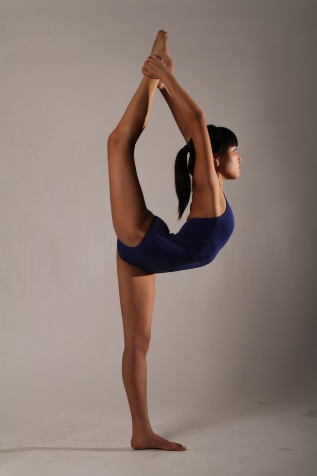 Photo: Katherine Marshall-Kramer, 15, has performed yoga ...