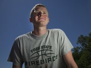 Free State's Austin Hoag will compete in the high jump at the Class 6A state meet on Saturday in Wichita.