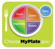 This undated handout image provided by the Agriculture Department shows the department's new healthy eating symbol: My Plate. The Agriculture Department says its new healthy eating symbol that replaces the food pyramid will show Americans that nutrition doesn't have to be complicated.