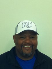 Kansas University linebackers coach Vantz Singletary.