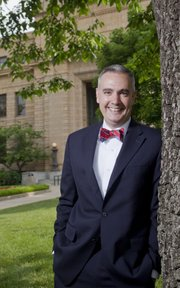Tim Caboni is the new vice chancellor for public affairs at Kansas University.