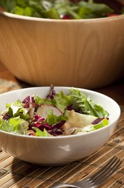 Big Beautiful Salad with Lemon-Miso Dressing.