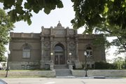The Carnegie Library building in downtown Lawrence.