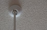 When it is time to repair a popcorn- textured ceiling, a little detective work is the first course of action.