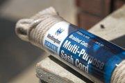 Braided multipurpose sash cord