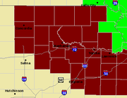 Much of northeast Kansas is under an excessive heat watch for the upcoming weekend. Temperatures of 100 degrees or hotter are expected across the area.
