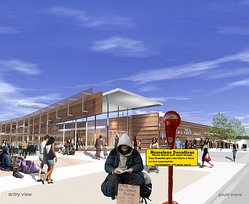 Improved for Accuracy: The New Lawrence Public Library Rendering