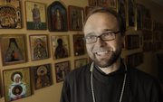 Joshua Lollar is the priest of St. Nicholas of Myra Orthodox Church in Lawrence.