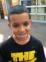 Anton Bratton, seventh-grader at South Middle School.