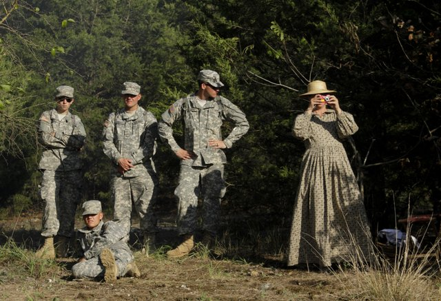 Photo A Scene From The Battle Of Wilson S Creek 150th Ljworld Com