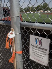 Because available bathrooms are too far from the new Lawrence High School baseball field, the school district now must build some restrooms at the LHS baseball complex. The question is where will the money come from.