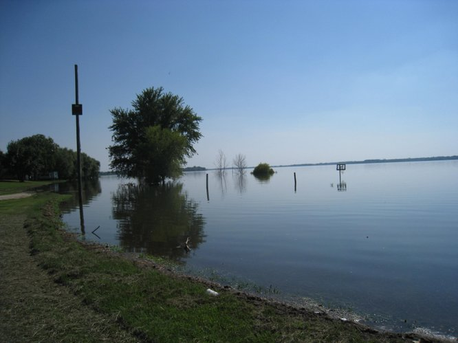 High water at Milford Lake was one of the factors contributing to the outbreak of blue green algae this summer.