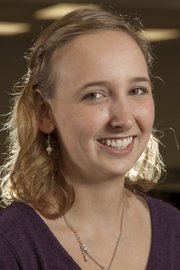 Leah Towle, 2012 National Merit Semifinalist from Lawrence High School.
