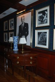 Columnist Caitlin Donnelly had the opportunity to visit the offices of Ralph Lauren in New York City.