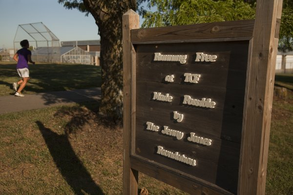 Inmates at the Topeka Correctional Facility say a running program called Running Free has given them a new outlook on life.