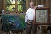 Jeff Weinberg, assistant to the chancellor at Kansas University, is entering phased retirement. One of his hobbies and passions is painting.