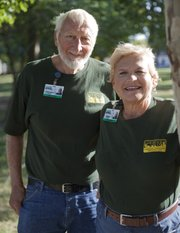 Willard Epling and Paula Hladky, are nominees for the United Way Roger Hill Volunteer Center's 2010 Wallace Galluzzi Outstanding Volunteer Award. They both volunteer for Douglas County Emergency Management.