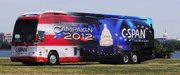 The C-SPAN Campaign 2012 Bus is expected to arrive in Lawrence more than a year before the presidential election. The bus is set to visit both Free State and Lawrence high schools on Oct. 7, 2011.