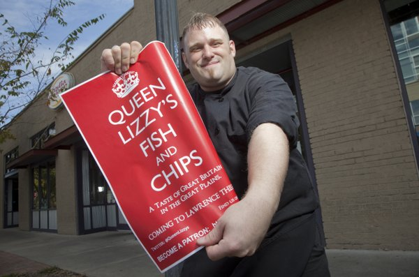 Matt Poulton is owner of Queen Lizzy&#39;s Fish and Chips, winner of Best New Restaurant in the 2012 Best of Lawrence contest.
