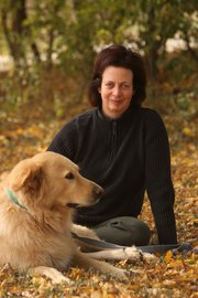 Lynda Gammal is a natural health professional who lives near Pomona with her dog, Cheyenne.
