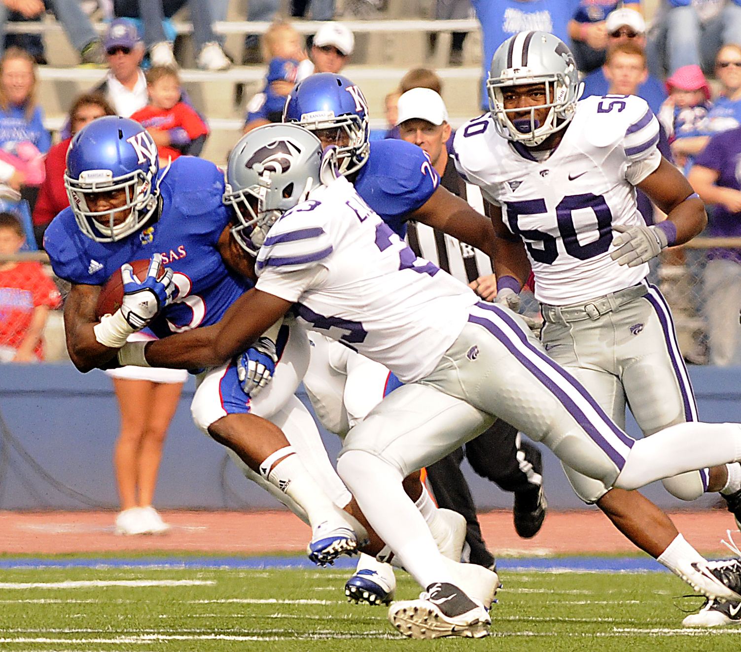 KU football RB Darrian Miller's long and winding road as a ...