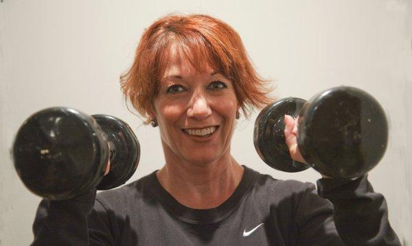 Personal trainer Jennifer Osborn