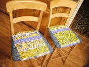 Recovering seats is an easy, cheap alternative to buying brand new ones.