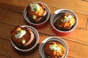 Twice-Baked Chipotle Lime Sweet Potatoes by Megan Stuke.