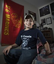 Daniel Watts turns 11 today, on Veterans Day. His parents were in the Army and Air Force and he has cousins in the Marines. Daniel says he wants to be a Marine when he is older.