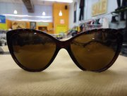 A pair of cat-eye sunglasses from Arizona Trading Company, 736 Mass.