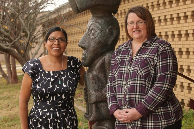 Rhonda LeValdo, an instructor in Media Communications at Haskell Indian Nations University, and Teresa Trumbly Lamsam as visiting professor at Kansas university, have teamed up to study how the media frame the diabetes rate among native Americans.