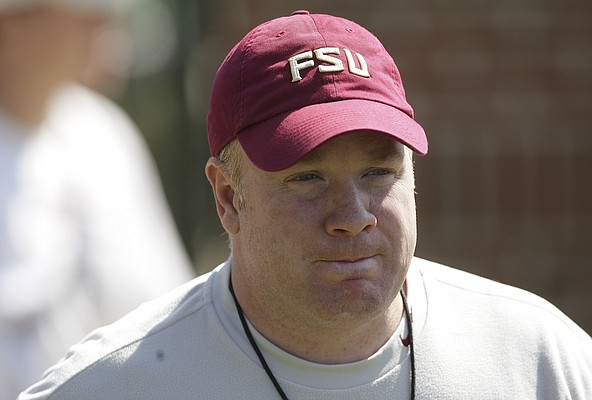 Florida State defensive coordinator Mark Stoops.