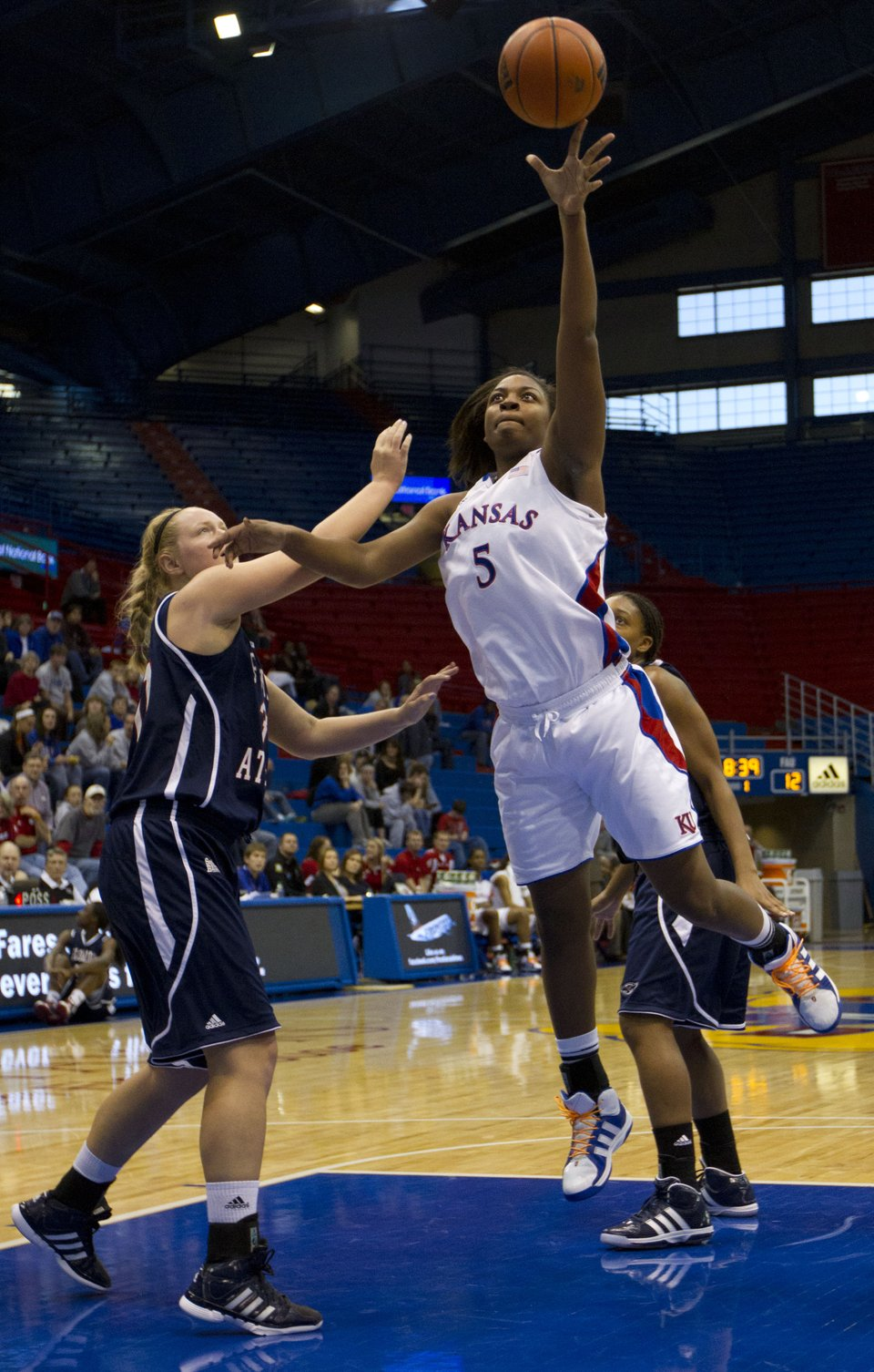 KU women's basketball vs. FAU | KUsports.com