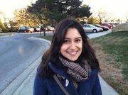 Arzu Geybullayeva, a 28-year-old blogger from Azerbaijan.
