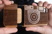 Photo courtesy of PhotoJoJo. This walnut wood case for an iPhone 4 and iPhone 4S might be the perfect stocking stuffer for that hard to buy for photographer friend. While you can't always buy cameras for others, there are plenty of unique gift options that would please any photographer.