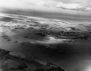 Pearl Harbor from above, May 1940.