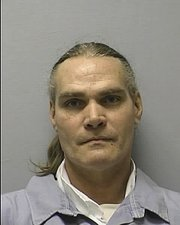 Kansas Department of Corrections mug shot of Donald Bruce, who was convicted in 1992 in Douglas County of first-degree murder. Bruce is eligible for parole in February.