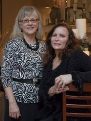 Beth Riddell, left, and Trish Van Vliet are owners of Lawrence's Stylish Staging.