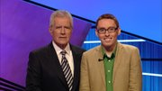 """Jeopardy!"" host Alex Trebek with Lawrence resident Preston Nicholson, who is scheduled to appear on the game show on Jan. 13."