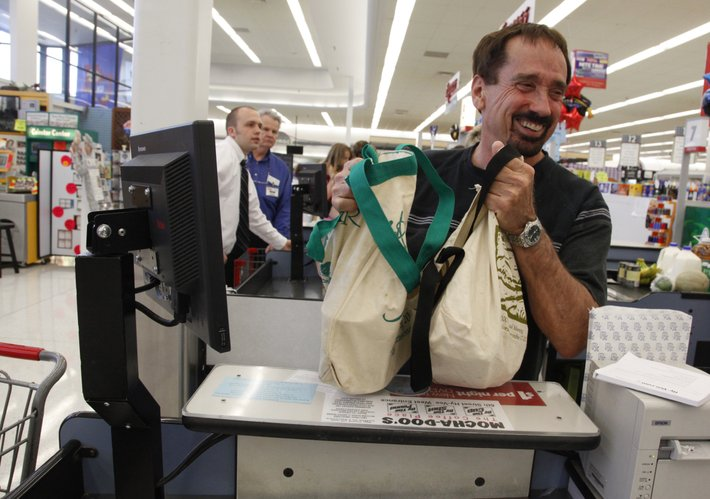 Study finds reusable shopping bags carry bacteria along with ...