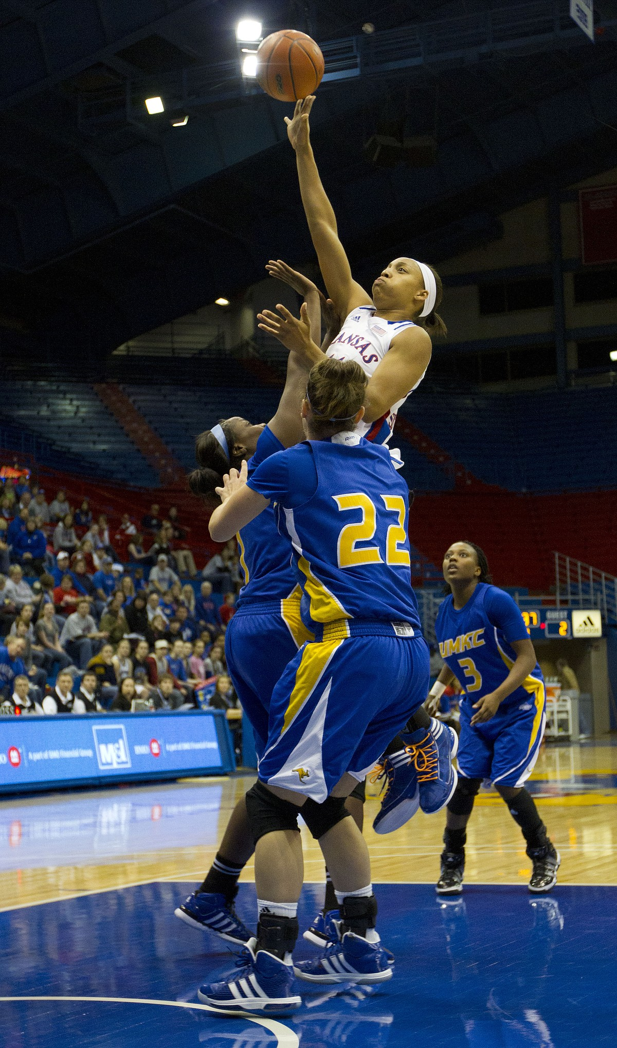 KU women's basketball vs. UMKC / LJWorld.com
