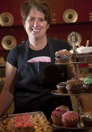 "Allyson Fiander is the owner of Billy Vanilly Cupcakes, 914 Mass. Fiander has appeared on ""Cupcake Wars"" and won awards as a small-business entrepreneur."