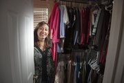 Shari Quick went without buying any clothes in 2011 as part of her resolution this last year. But come Jan. 1, she said she will go shopping for herself.
