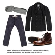 Men's winter wardrobe staples