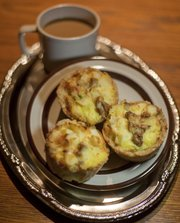 Audrey Lintner's gluten-free breakfast bakes.