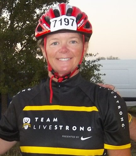 Michelle Derusseau participated in a 90-mile bicycle ride that was part of the Livestrong Challenge in October in Austin. The event helped raise money for The Lance Armstrong Foundation and its fight to improve the lives of people affected by cancer. She recently was named a Livestrong leader for Douglas County.