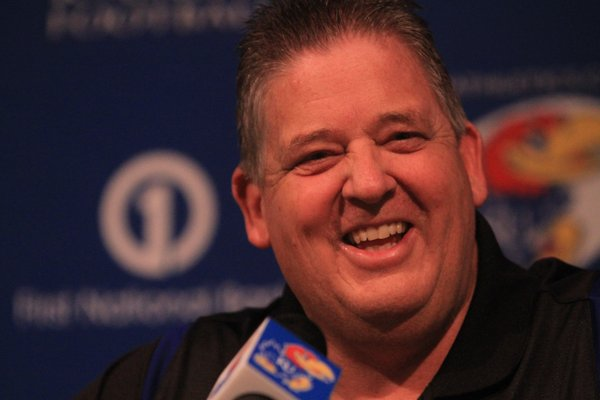 Kansas football coach Charlie Weis talked to the media on Wednesday about his first recruiting class at KU.